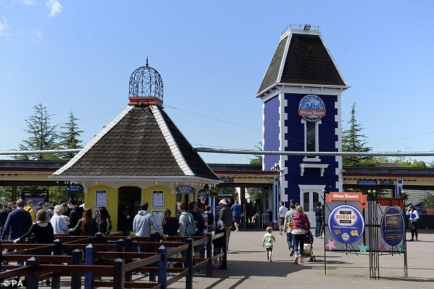 Alton Towers reopened today for the first time since the crash although some rides remain closed