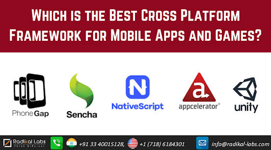 Best Cross-Platform Tools For Mobile Apps And Games Development