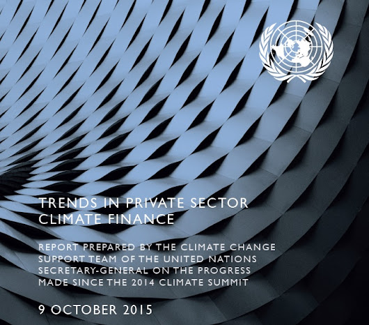 TRENDS IN PRIVATE SECTOR CLIMATE FINANCE REPORT | Genesis