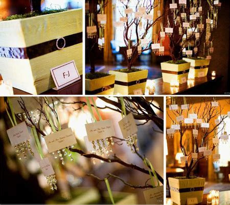 Place Card Holders Ideas for your Wedding   Arabia Weddings