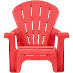 Little Tikes - Plastic Garden Chair - Red