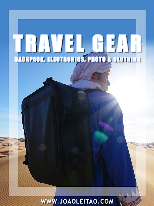 Travel Gear: My Backpack, Electronics, Photo & Clothing