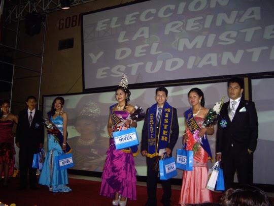 Fotos y video - elección Reina y Mister de los estudiantes 2013