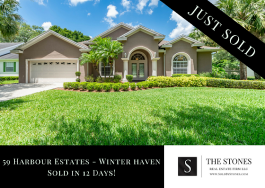 JUST SOLD: SE Winter Haven in Harbour Estates - The Stones Real Estate Firm