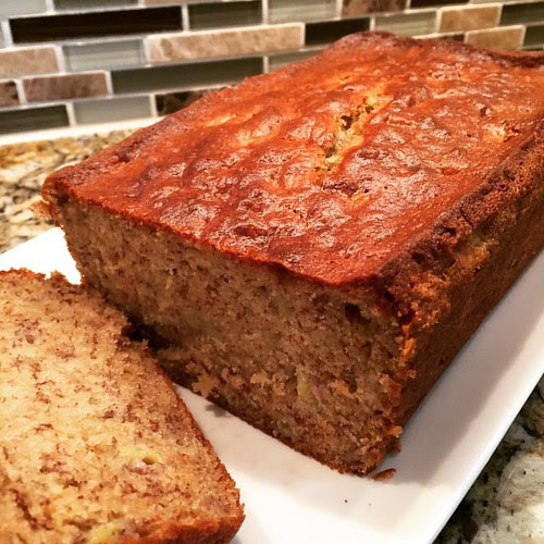 Freshening up a favorite banana bread recipe