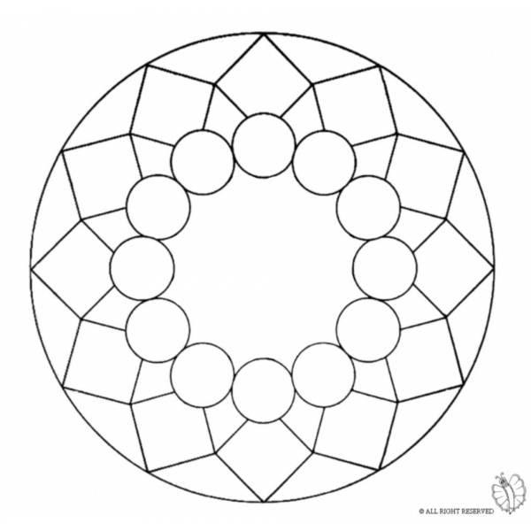Mandala Per Bambini Da Colorare Stampae Colorare