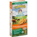Annies Organic Macaroni & Cheese, Grass Fed, Shells & Real Aged Cheddar - 6 oz