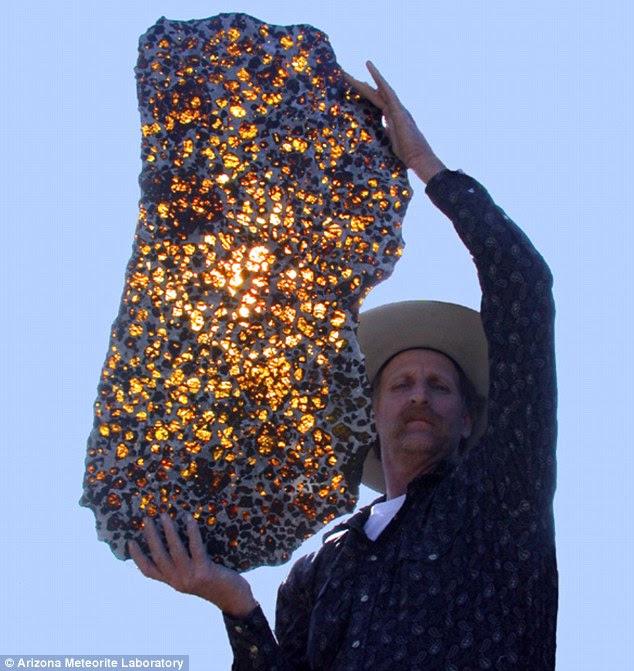 Batu Menakjubkan dari Luar Angkasa