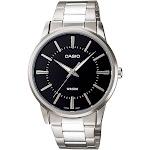 Casio Men's Core MTP1303D-1AV Silver Stainless-Steel Quartz Dress Watch
