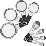 Oxo 8-piece Stainless Steel Measuring Cups And Spoons Set - 11180500