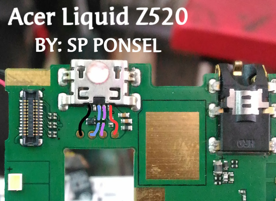 Acer Liquid Z520 Usb Charging Problem Solution Jumper Ways