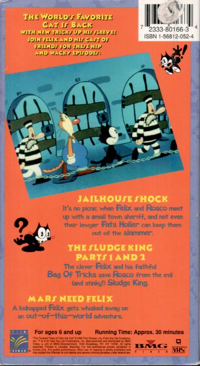 Jail House Shock VHS back