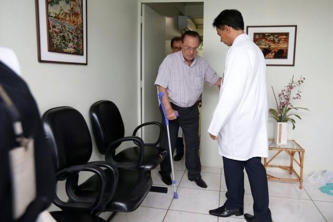 Deputado Paulo Maluf é internado em hospital particular de Brasília.
