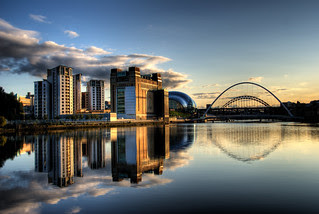 View of the Tyne at Newcastle by Wilka