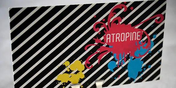 {Business Cards} DJ Atropine