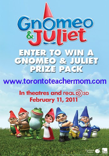 Gnomeo and Juliet Giveaway