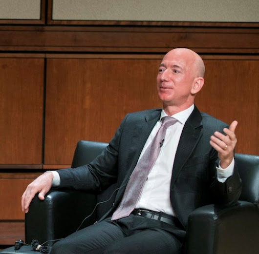 Jeff Bezos and NRO talk about space security and innovation – GeekWire