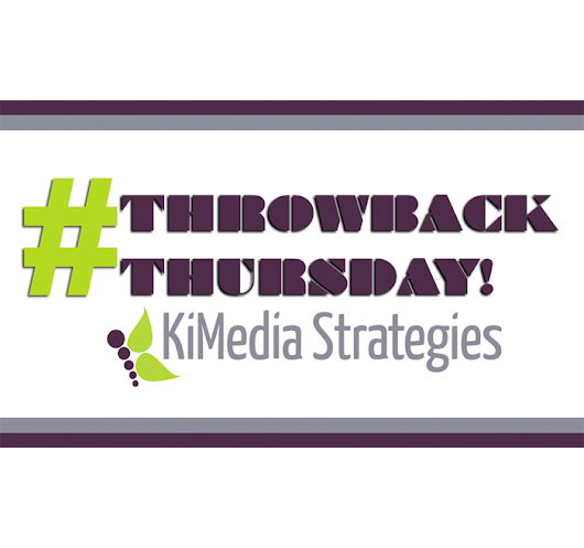 Is Your Brand Participating In #ThrowbackThursday?