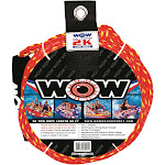 Wow Sports 11-3000 60 ft. 2K Tow Rope