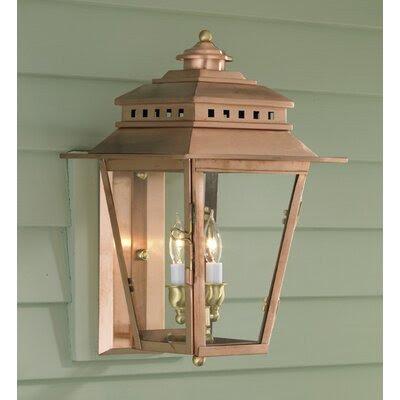 Copper Exterior Lantern | Wayfair
