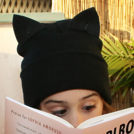 DIY Cat Beanie by Trinkets in Bloom