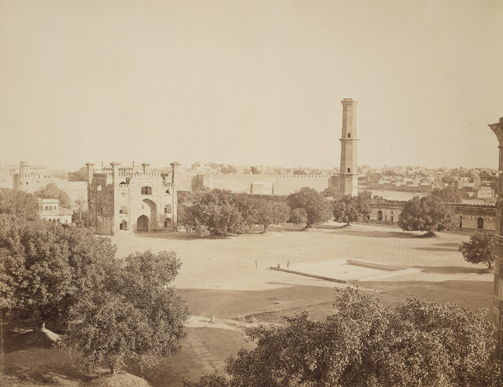 File:Interior of Badshahi Mosque taken by Samuel Bourne in 1863.jpg
