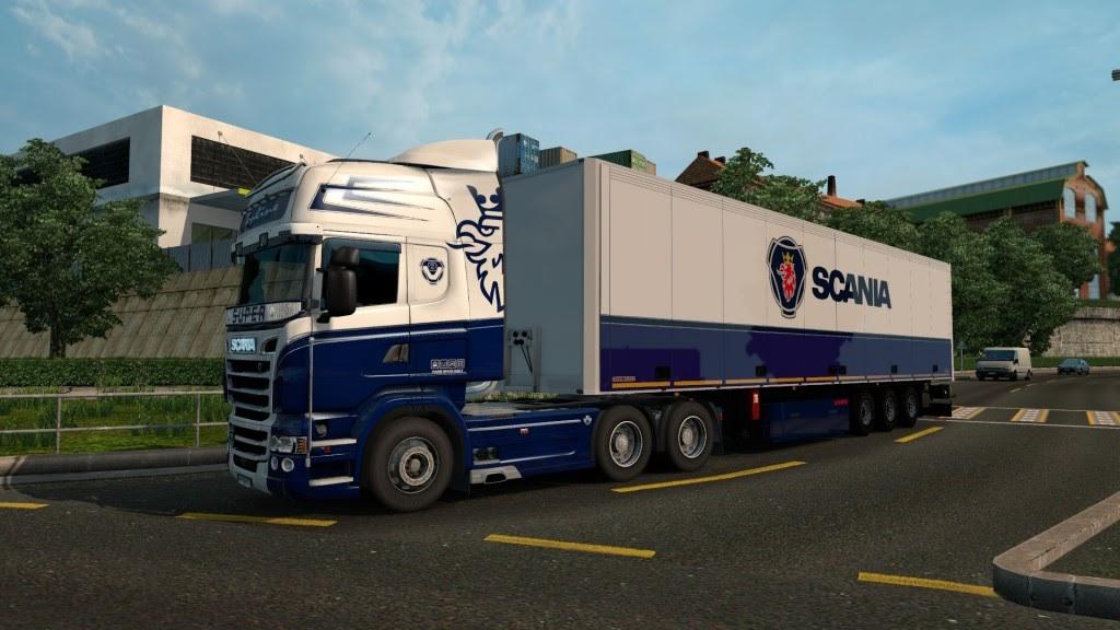 Eaa bus pack v1 6 mod euro truck simulator 2 mods - Blue Combo Pack For Scania Rjl Euro Truck Simulator 2 Mods