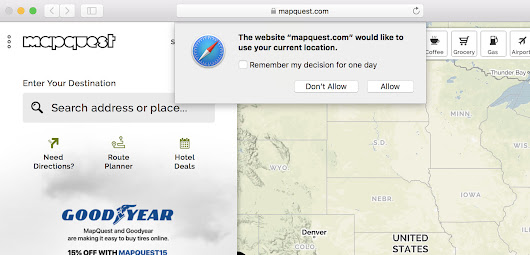 Stop Those Annoying Browser Prompts Asking for Your Location or to Send Notifications