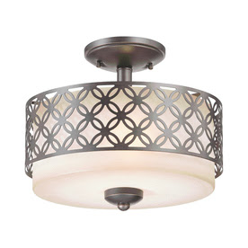 Style Stained Glass Flush Mount Ceiling Pendant Light Fixture Ebay Light Kit Included