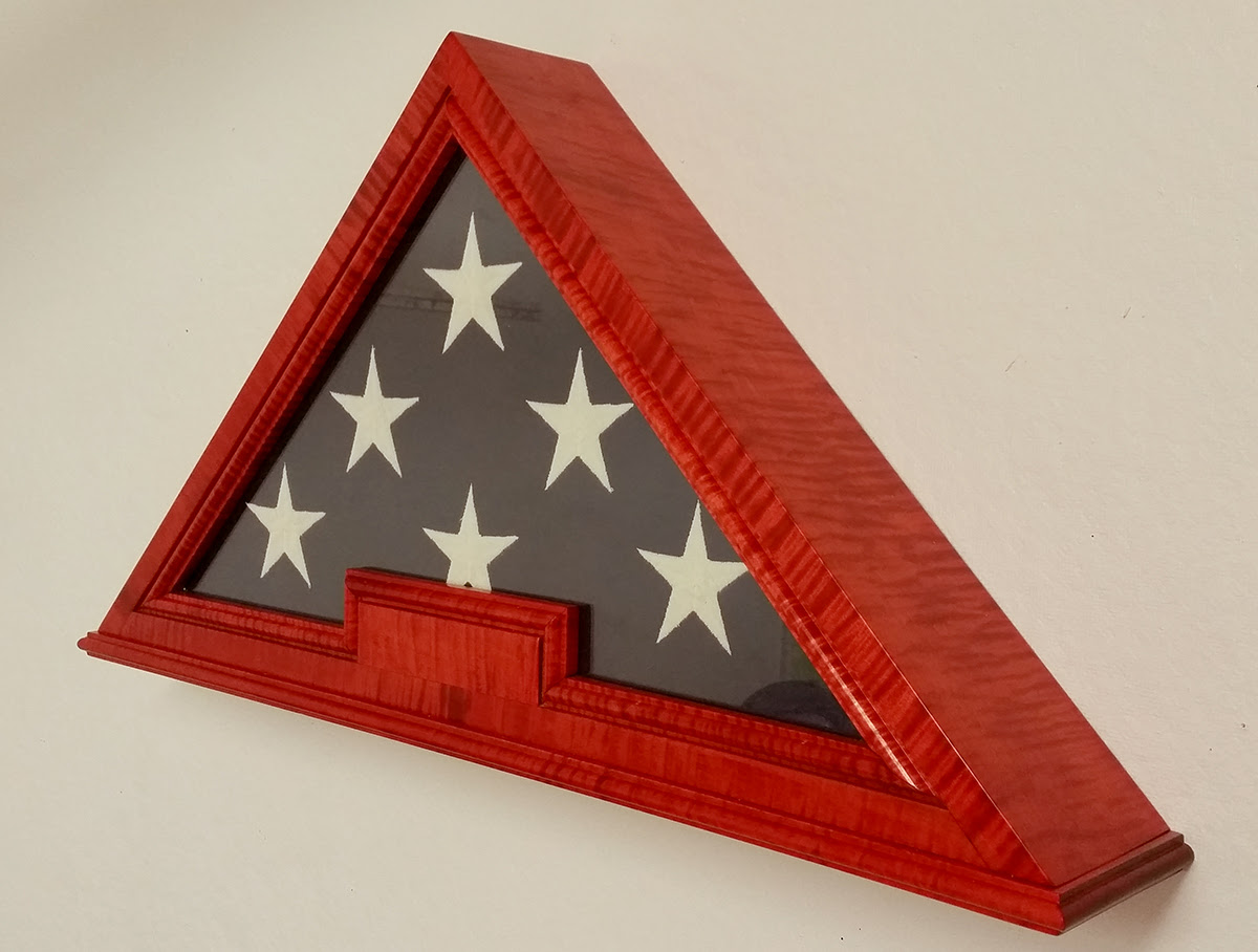 Custom Us Flag Display Cases Boxes Military Medals Display Cases