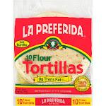 La Preferida Tortillas, Flour, Soft Burrito - 10 tortillas, 25 oz