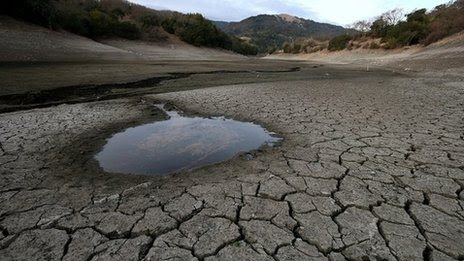 Dry California cannot deliver water