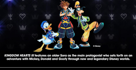 Kingdom Hearts III characters