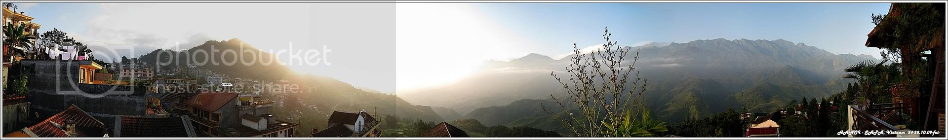 27-10-2009 Sapa Panorama Morning View