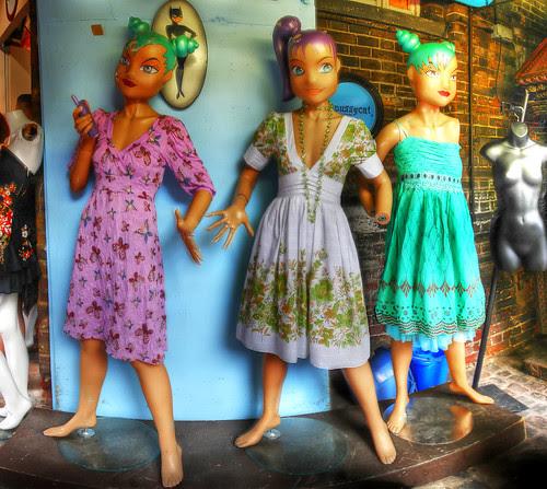 pussycat mannequins