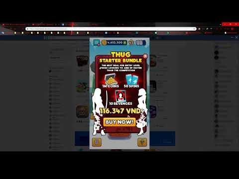 Hướng dẫn HACK SPIN game Thug Life Messenger vô hạn