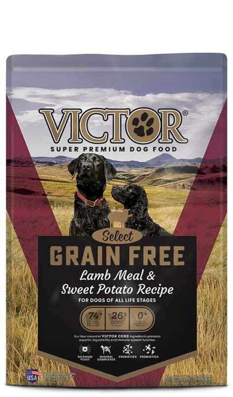 chicken meal brown rice formula victor pet food