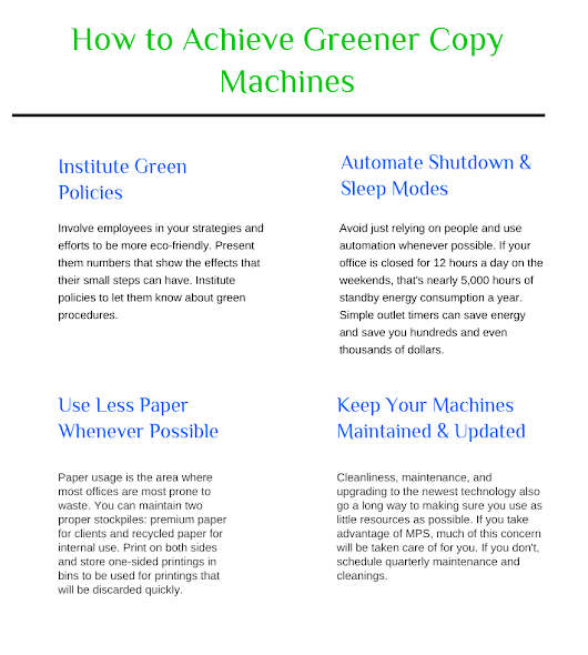 How to Achieve Greener Copy Machines [Infographic]