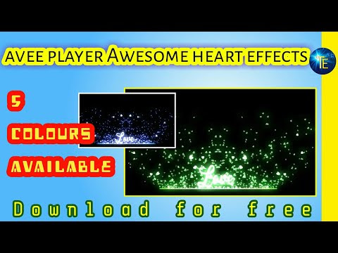 Awesome avee player effects free download | black screen