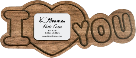 Heart Frames Heart Frame I Love You