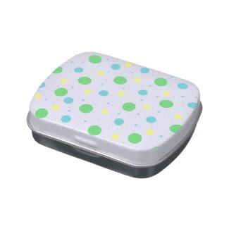 Caja de Dulces - Abstract Frascos De Caramelos