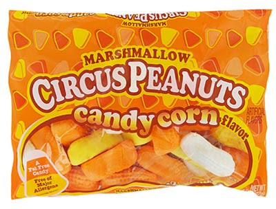Identity Crisis: Candy Corn flavored Circus Peanuts | Possibly Funny