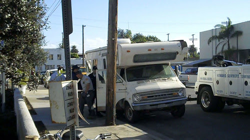 1st time they tried to tow Eric's truck. Late Nov. 2010