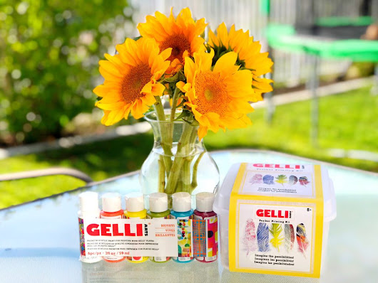 Feather Printing Kit by Gelli Arts - Family Review Guide