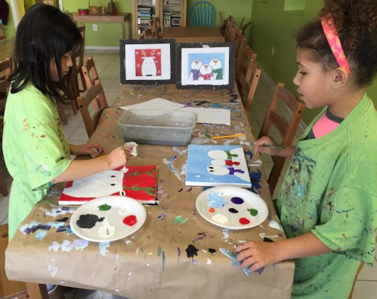 Cookies and Canvas, December 16, Paint a Holiday Painting on Canvas, Enjoy Cookies and Cider, Register Your Family Now!