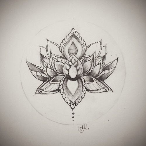 Lotus Flower Drawing Tumblr At Getdrawingscom Free For Personal