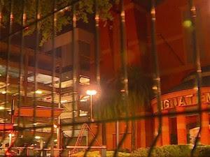 Cinema fica localizado em um shopping de Porto Alegre (Foto: RBS TV/ Reprodução)