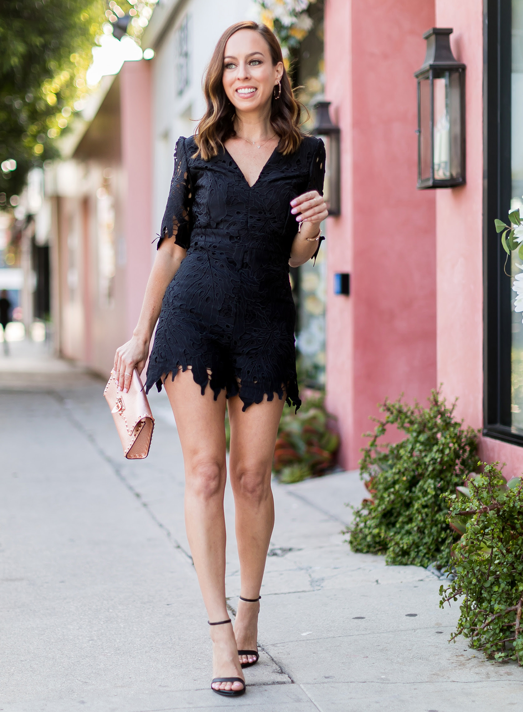 black rompers  day to night summer outfits for 2018
