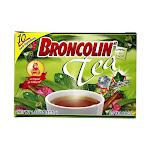 Broncolin Nutritional Herbal Tea, 0.05 Oz, 25Ea
