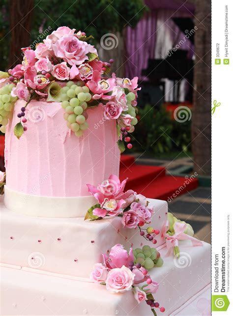Multi Layered Wedding Cake Stock Photography   Image: 3349672